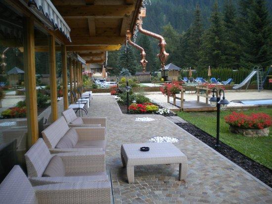 Hotel Rene: Hotel Renè - giardino