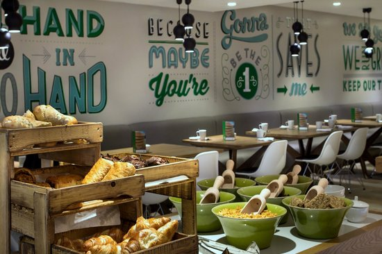 Holiday Inn London - Camden Lock : Our fresh and homely breakfast