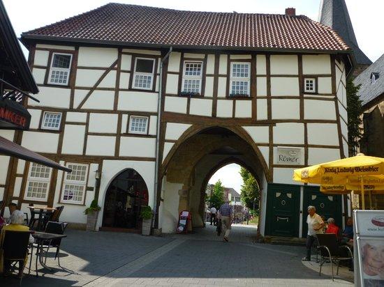 Hotel Restaurant Hinterding: older part of town