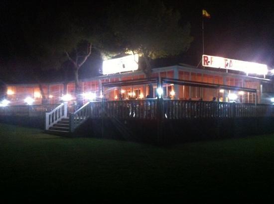 Restaurante Maribel: nueva terraza (noche)