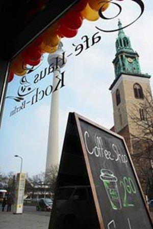 Café Haus Koch - Das schönste Café in Berlin: Café-Haus Koch Berlin