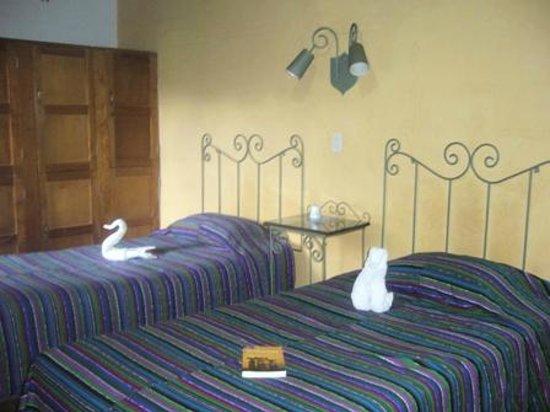 Posada Juma Ocag: Twin room