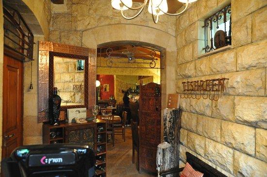 Tishreen : The restaurant interior