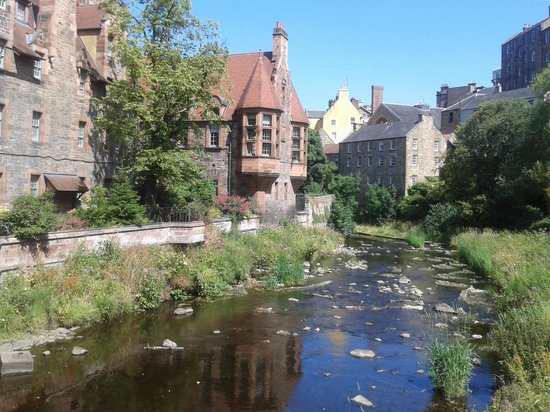 Water of Leith Walkway: Water of Leith at Dean Village