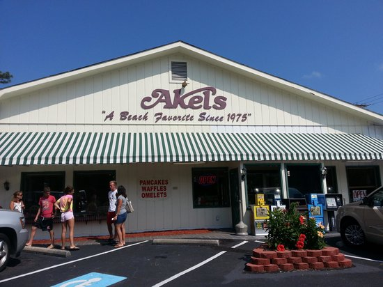 Akels house of pancakes myrtle beach restaurant reviews for Inexpensive romantic getaways in south carolina