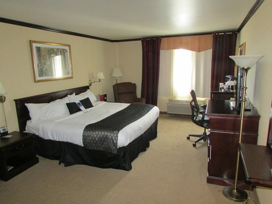 """BEST WESTERN PLUS City Centre/Centre-Ville : For some reason I got an """"upgrade"""" to an executive room. It was very comfortable and spacious."""