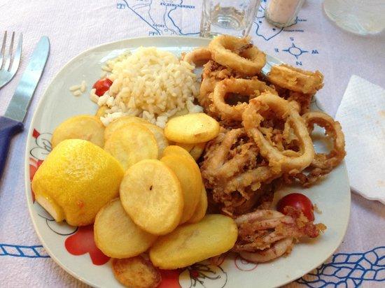 God's Garden : Calamari fritti