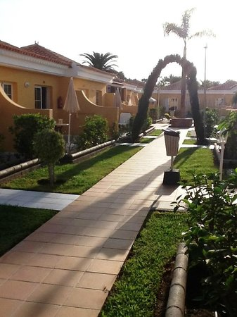 La Mirage Swingers Complex: Walkway to the bedrooms and playroom