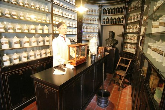 Folklore Museum: A pharmacy