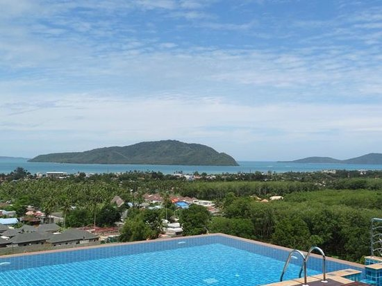 The View Rawada Resort & Spa : Hotel View for, the room