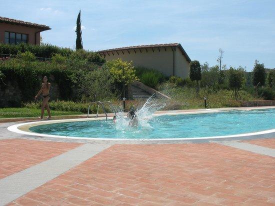 Fattoria Santo Stefano: town house pool