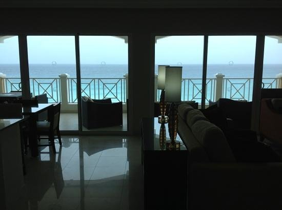 Ocean Two Resort & Residences: Sea view from inside suite