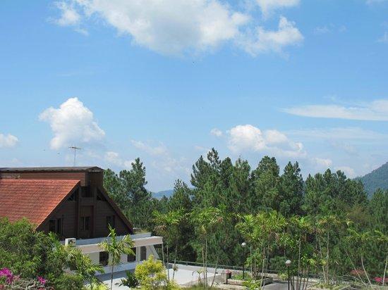 Awana Hotel: Balcony view