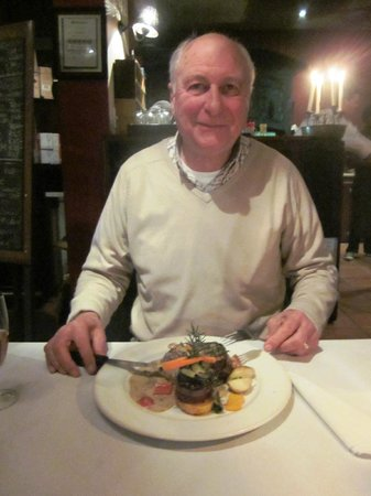 The Olive Tree: What a steak