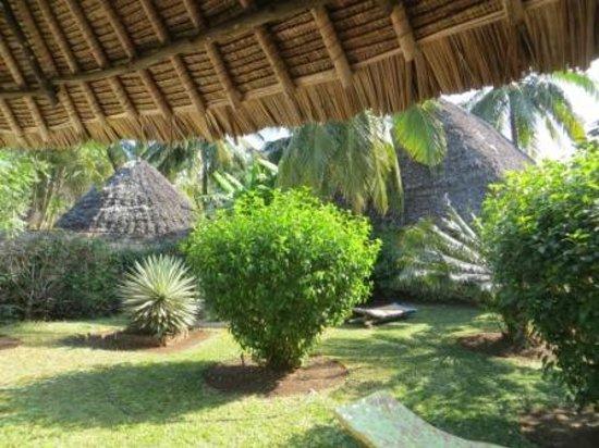 Les Datchi cottages: Garden
