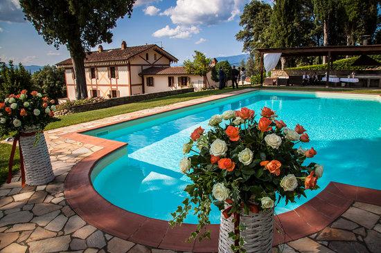 Villa Rossi-Mattei: the villa