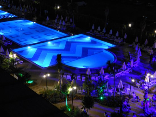 Ramada Resort Lara: Pool view from my balcony