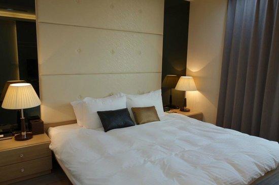 p.s99 Anping: 舒適的大床