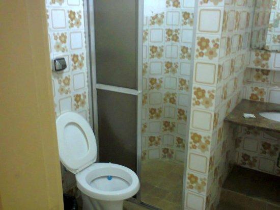 Hotel Jaguar : banheiro antigo