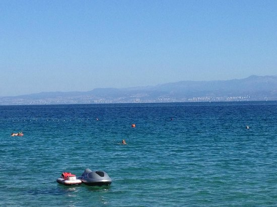 Vila Milcetic: Mit Blick Richtung Rijeka