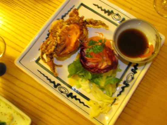 Doraku Japanese Cuisine: SOFT-SHELLED CRAB/PONZU SAUCE SUZUKI RESTAURANT HALIFAX