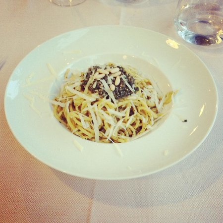 Slow Life Umbria - Relais de charme: Delicious pasta pesto by Bruno