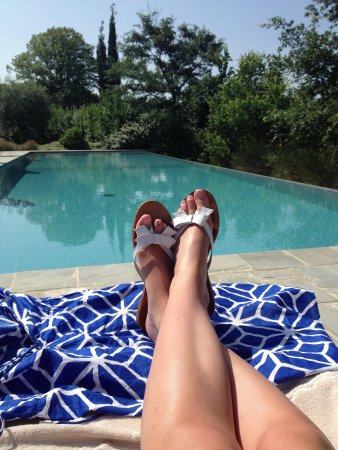 Slow Life Umbria - Relais de charme: The infinity pool