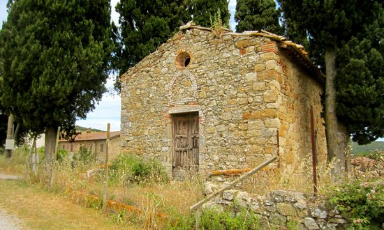 Antico Borgo di Tignano: an old church on part of the grounds