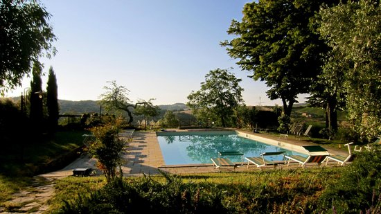 Antico Borgo di Tignano: the pool