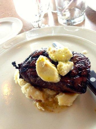 Max Supper Club: Steak and garlic mashed