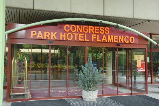 Danubius Hotel Flamenco - Budapest : Eingang