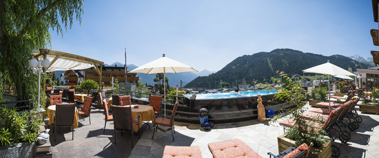 Hotel Cervosa: Panorama-Terrasse