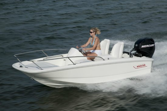 Shep Brown's Boat Basin: Do some exploring in our Boston Whaler 130 Super Sport Rental.