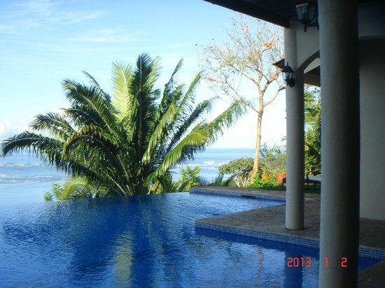 El Castillo Hotel: endless pool looking SW