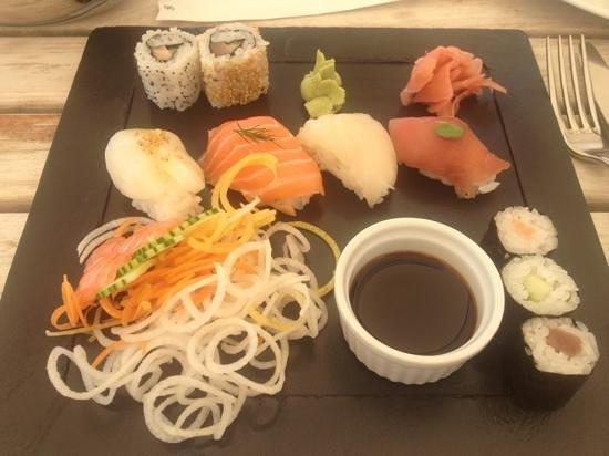 Pyla-sur-Mer, Frankrike: assiette japonaise