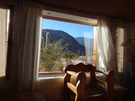 Huaira Huasi: Desde el living de la cabaña