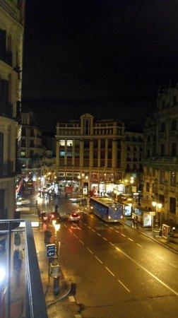 Quatro Puerta del Sol Hotel: vista dalla camera 303