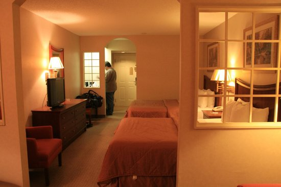 Rodeway Inn & Suites On The River : Our room