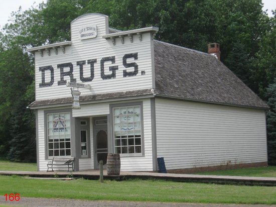 Living History Farms: Living History Drug Store