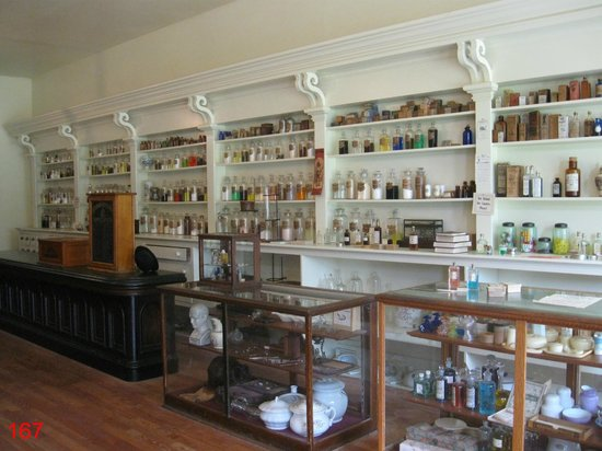 Living History Farms: Well Stocked Shelves within the Drug Store