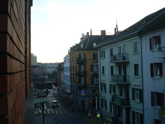 A Glance from Hotel Rothaus