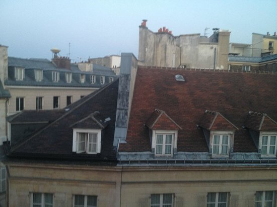 Hotel De Buci by MH : View of rooftops from junior suite 61