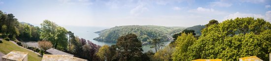 Kingswear, UK: View from the gardens