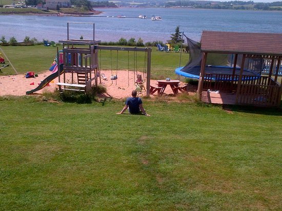 Beach & Breeze Cottages : View from our deck