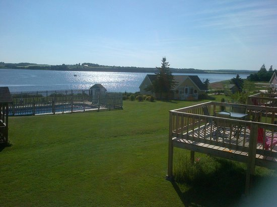 Beach & Breeze Cottages : View off our deck