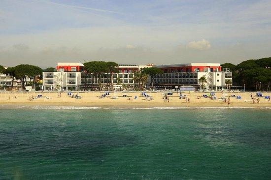 Estival Centurion Playa: Vista frontal desde el mar