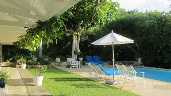 Round Hill Hotel & Villas: Private Pool at Cottage 4
