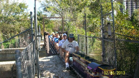 Fort Myers, FL: Ride thru the wilderness on open passenger cars