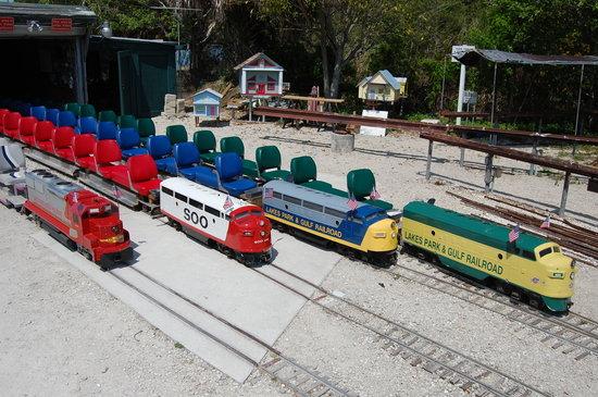 Railroad Museum of South Florida: Train runs 7 days a week