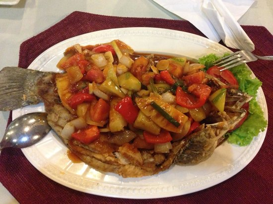 Terrace 90 Bakery & Restaurant : The sweet and sour fish